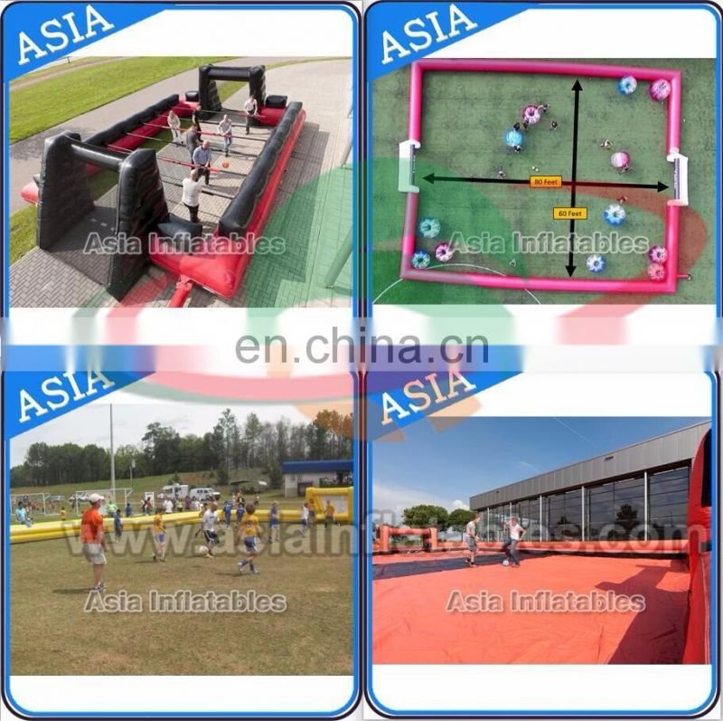 Kids&Adults Inflatable Football funny indoor Inflatable Billard Soccer games