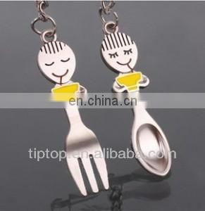 Best seller couple cartoon keyring