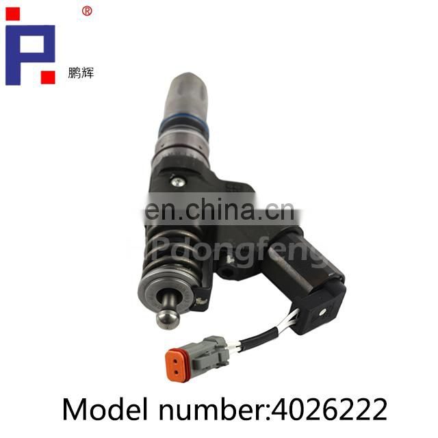Dongfeng truck spare parts QSM11 injector 4026222 for QSM11 diesel engine