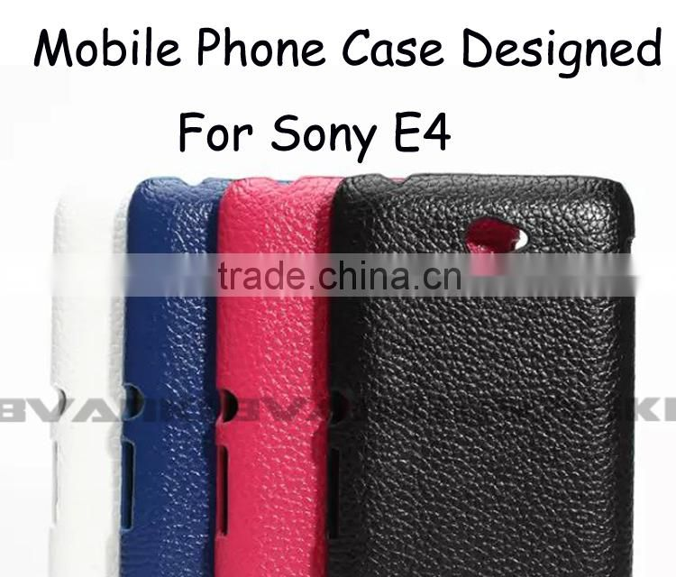 Phone Case Packaging Custom Design Wholesale Mobile Phone Covers Case UK Flip Cover For Sony Xperia E4 Ultra Leather Samples