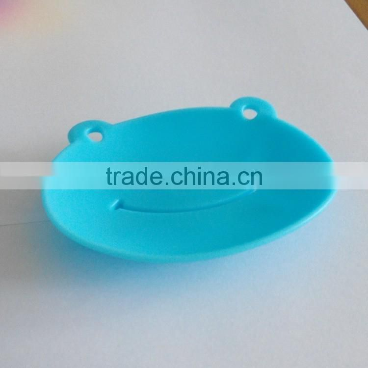New Fashion design cute Frog shape silicone soap molds/customizable Silicone Bathroom Soap Holders