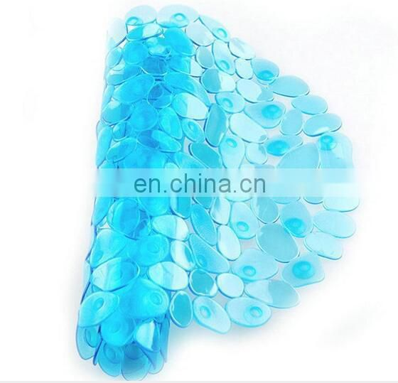 Wholesale pvc pebble non slip bath mat