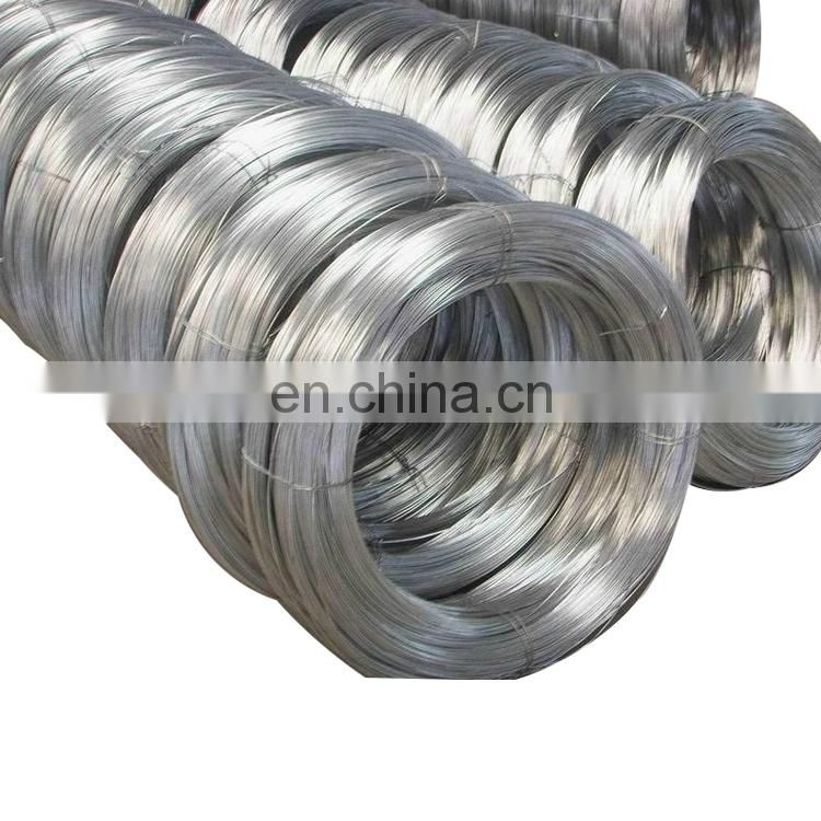 low price electro galvanized iron wire garden park use wire