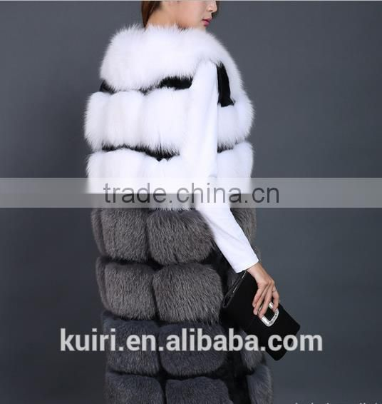 New arrival 2016 formal sheep shearing overcoat female long design fashion thermal sheep wool fur coat