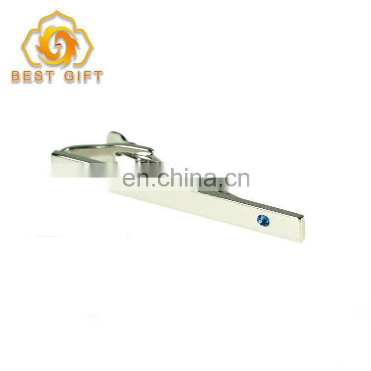 Promotional Gift Stainless Steel Tie Bar Clips