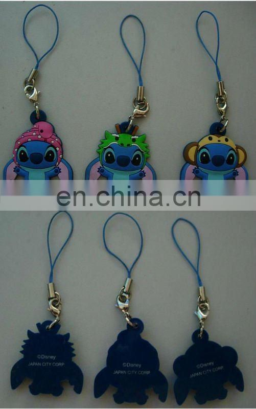 wholesale cute cartoon style phone straps mobile phone charms