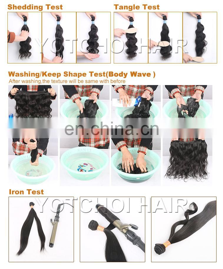 Factory price free sample 4pcs/Lot curly 100% human hair virgin Malaysian hair