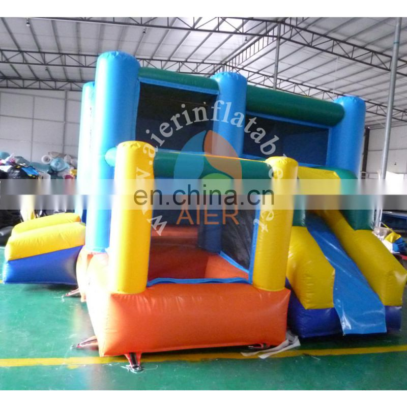 China inflatable carton bouncy house / inflatable toys castle for kids