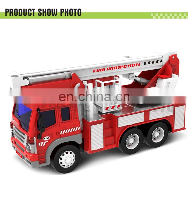 Hot 4 channel 1:16 rc fire truck with light and music