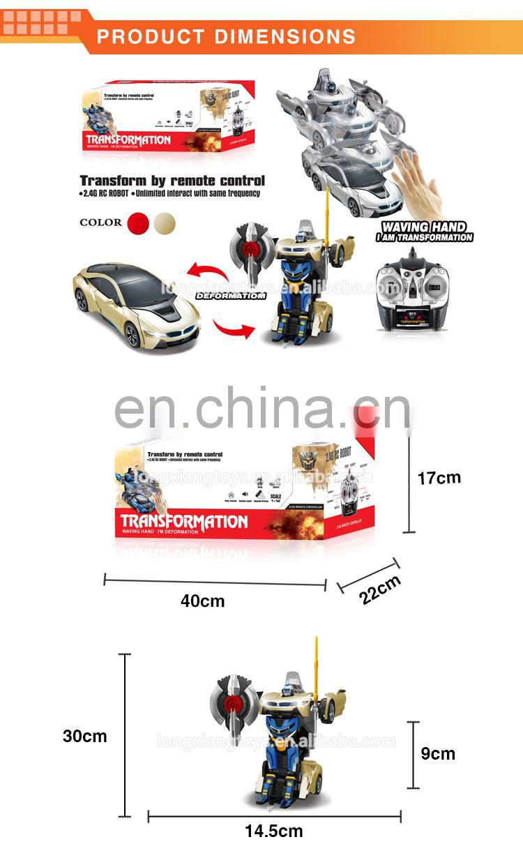 China newest trans robot toy car for kids