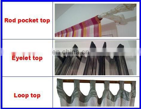 wholesale new style string curtain of home texitle
