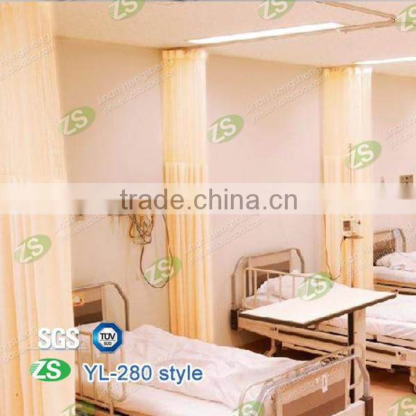 Fire Retardant Yarn Dyed Antibacterial Hospital Medical Office Bed Partition Curtain
