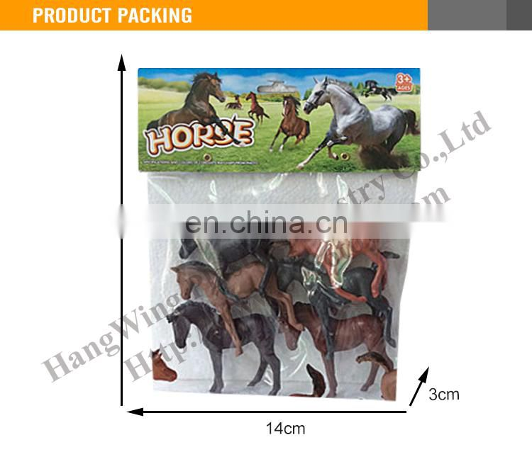 Cheap toy horse farm set