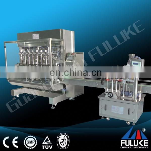 Fuluke Semi Automatic bottle screw cap capping machine