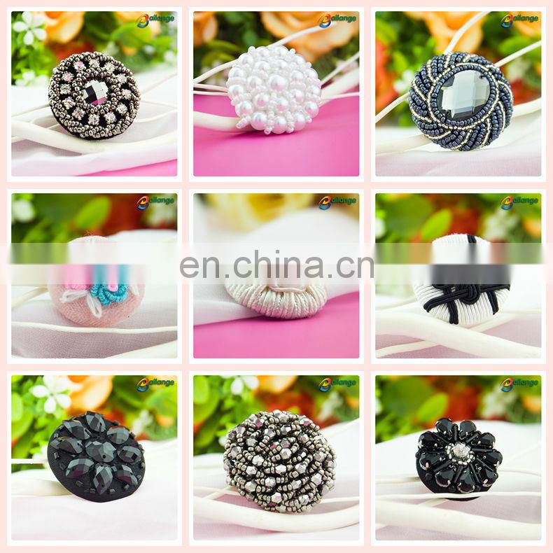 Wholesale designer coat clothing buttons beads button resin button for garment