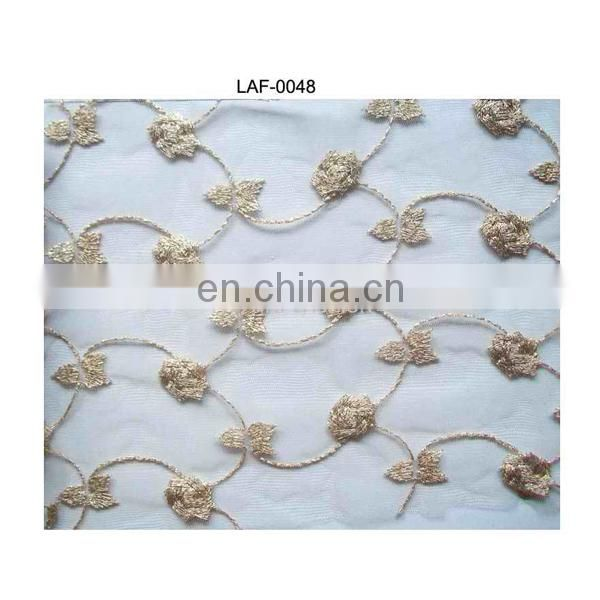 Guangzhou water soluble embroidery lace;embroidery water soluble lace;lace water soluble embroidery for wedding dress