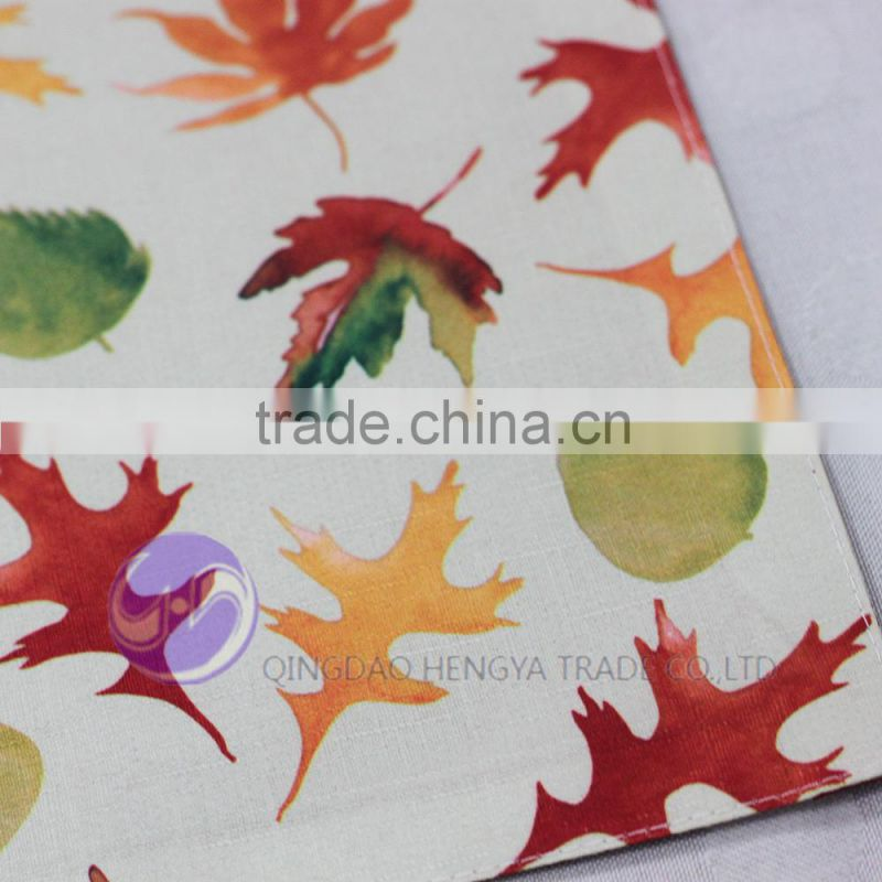 High quality full color printing dining table placemat