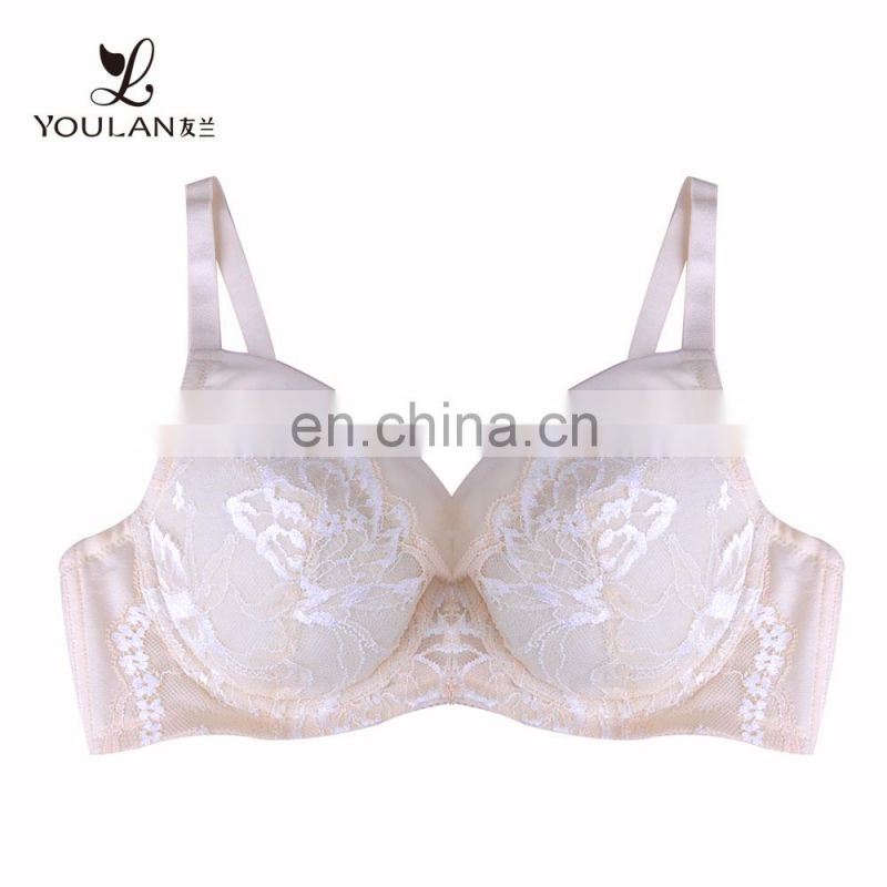 high quality custom size big size models plus size DD E F G H cup bra