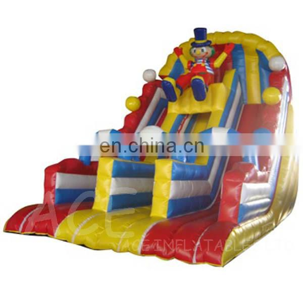 Commercial grade Inflatable Slide with two layers for sale