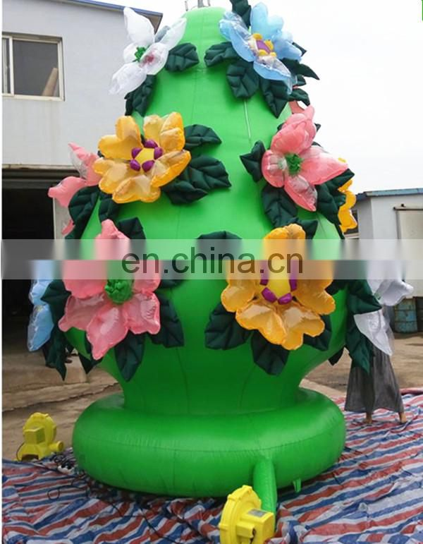 hot sale yard decoration inflatable flower
