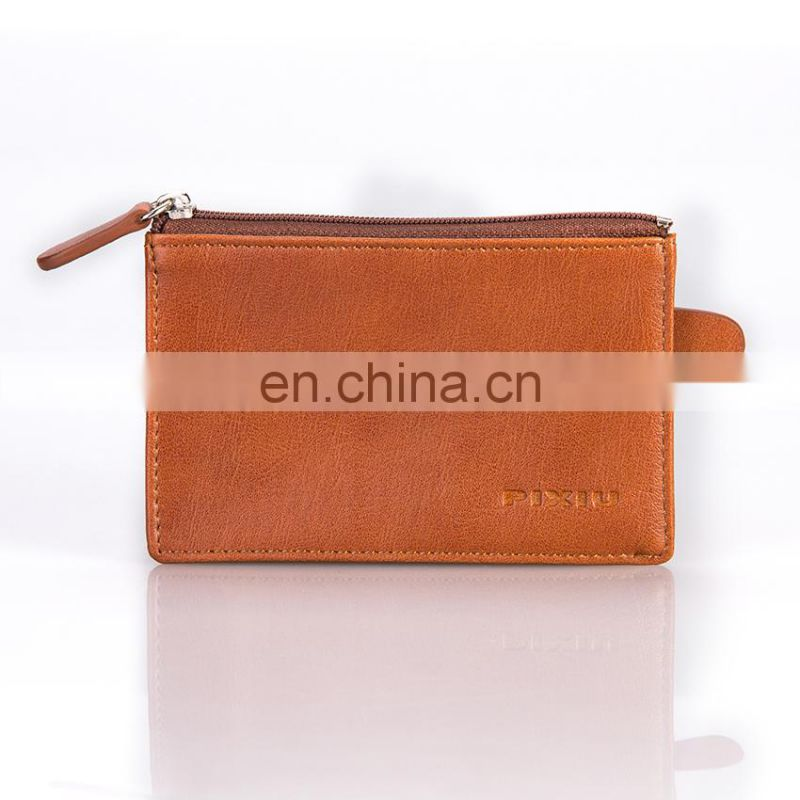 Wholesale Low MOQs High Quality Leather Key Case Coin Pouch