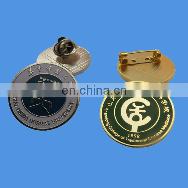 custom imitation cloisonne lapel pins with flower