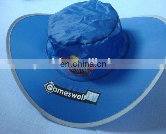 a80227ee5 custom logo printing Cowboy foldable hat of Frisbee ,foldable hat ...