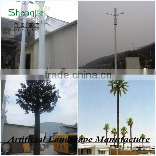 artificial communication tower tree, outdoor giant tower palm tree