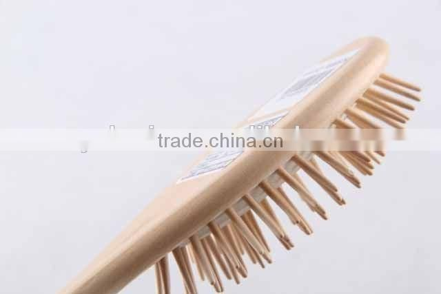 82 holes wooden comb/message hair brush