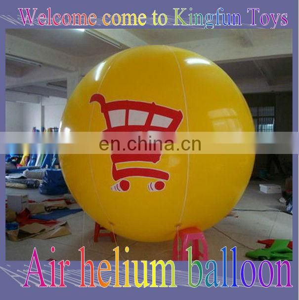 Red inflatable helium ball