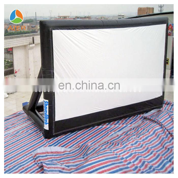 inflatable screen for big movie screen
