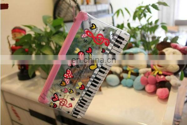 Promotion Transparant PVC Printed Zipper Pencil Cases
