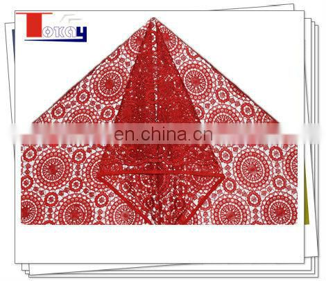 high quality red super soft fabric