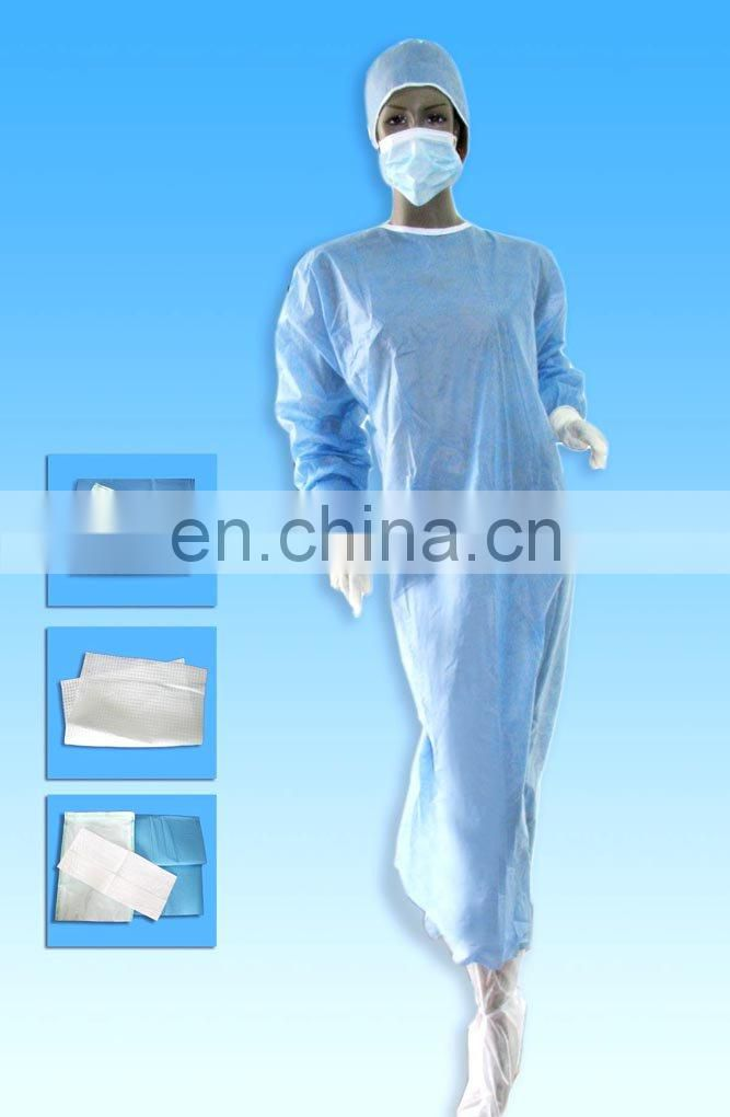 Extremity Pack with Surgical Gown Surgical Kit Essential Consumable Pack