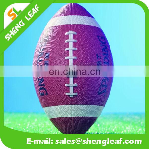 Promotional and wholesale with new design rugby ball