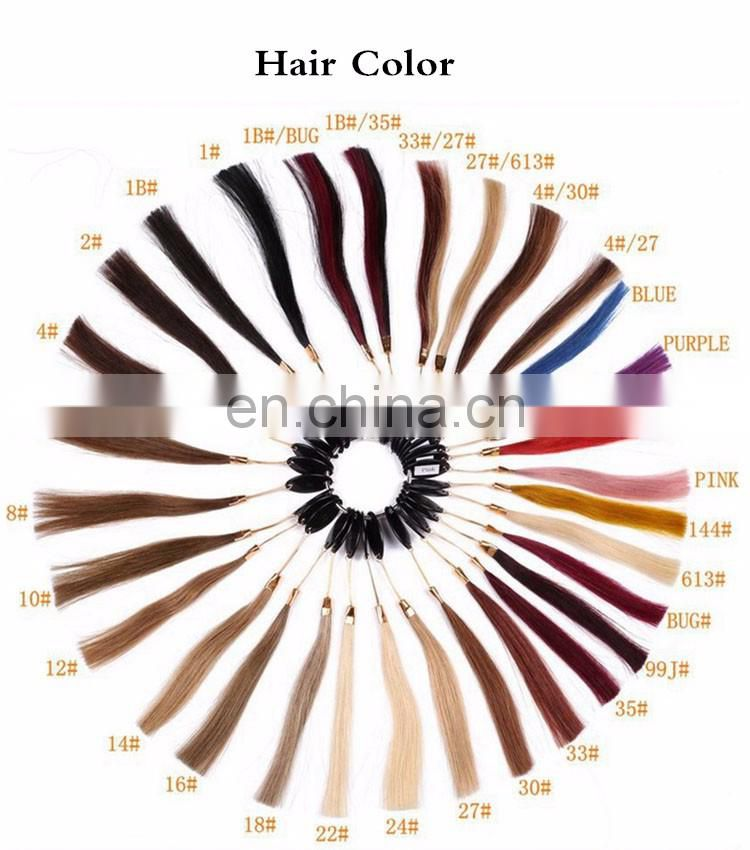 Pre Bonded I Tip Hair Extensions Stick Tip Extensions Dark Brown 2# 100 Remy Human Hair Extension 0.5g/ Strand 50g/ set&100g/set