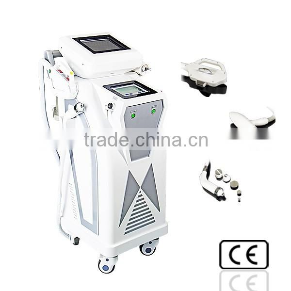 Vascular lesion removal and ipl hair removal machine