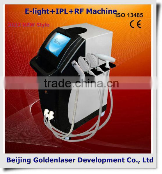 2013 New design E-light+IPL+RF machine tattooing Beauty machine crystal body jewel tattoo stickers Image