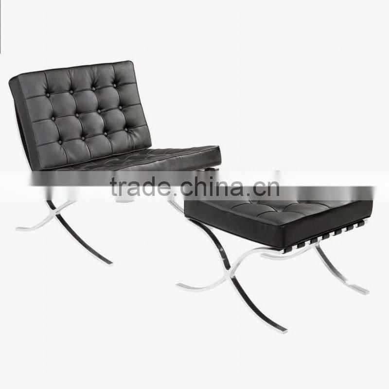 Leather barcelona chair 8101-3
