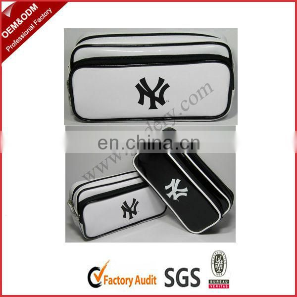 Men PU Bags With Two Zipper Pockets