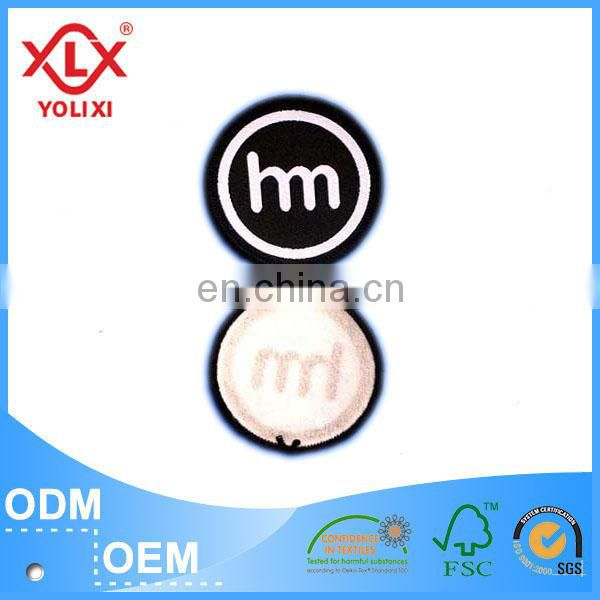 2017 High definition woven badge