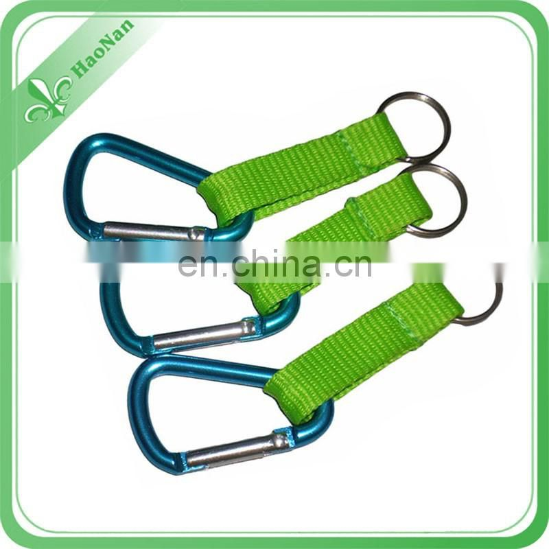 new products Stainless Steel Wire Rope carabiner clip