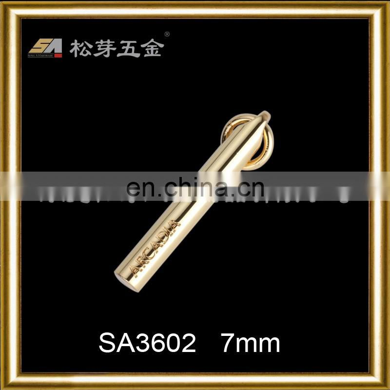 2016 new fashion zinc alloy luxury metal zip puller