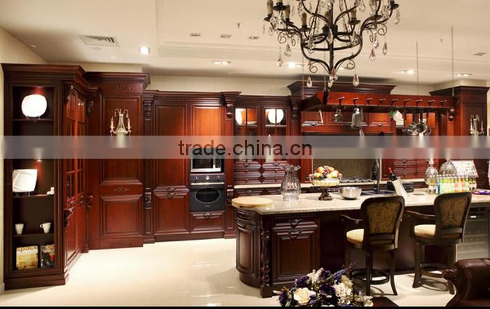 Hot new products for 2015 custom wood kitchen cabinets made in china,modular kitchen price