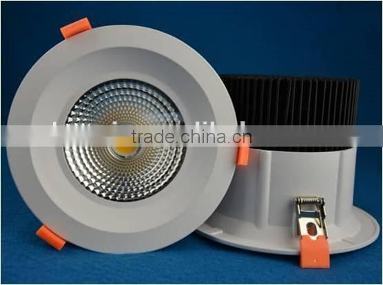 100-240V 3000K 4000K 6000K dimmable led downlight 50w