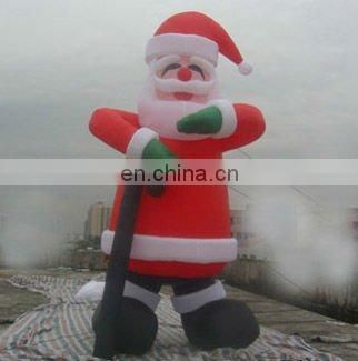 2015 new inflatable santa claus for outdoors christmas decoration giant 3-8m tall