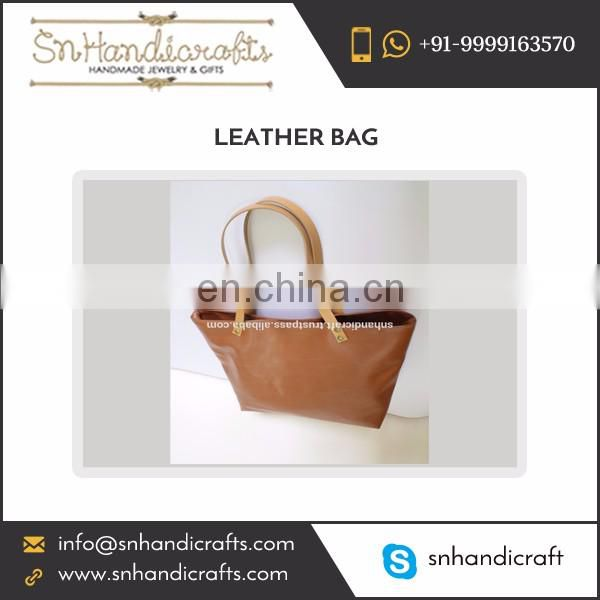 New Fashion Faux Leather Made Woman's Bag at Wholesale Rate