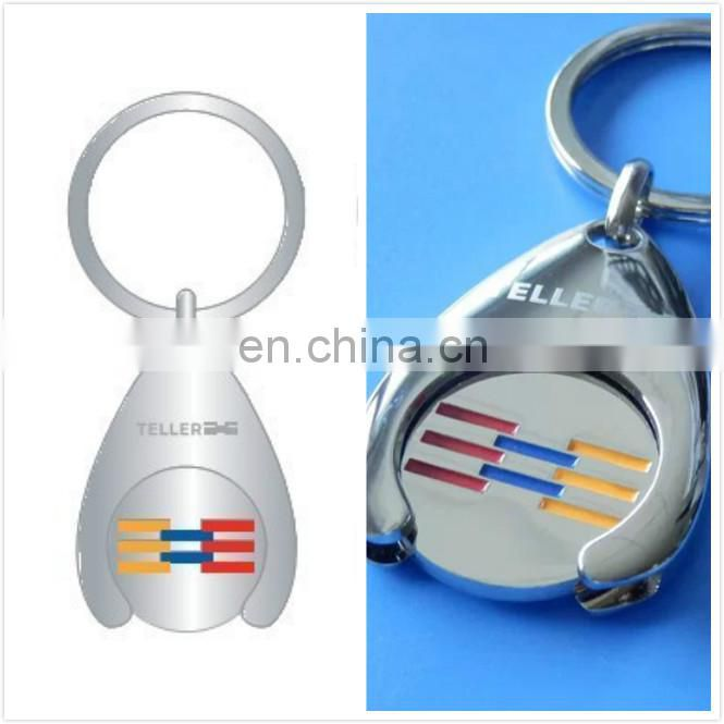 Shiny Trolley Coin Keychain