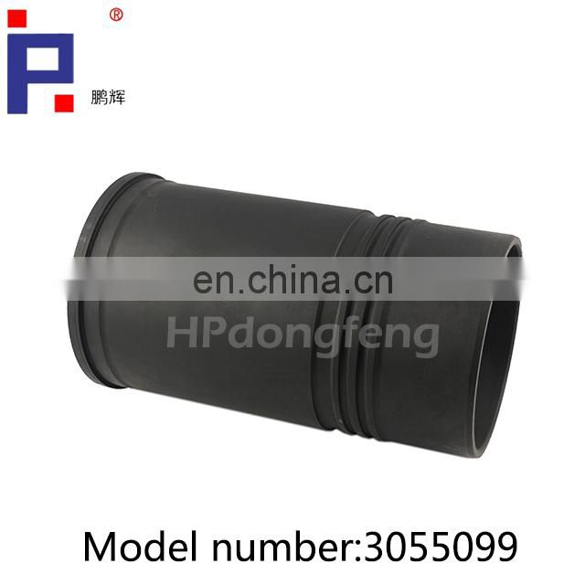 Diesel engine parts NT855 Cylinder liner 3055099