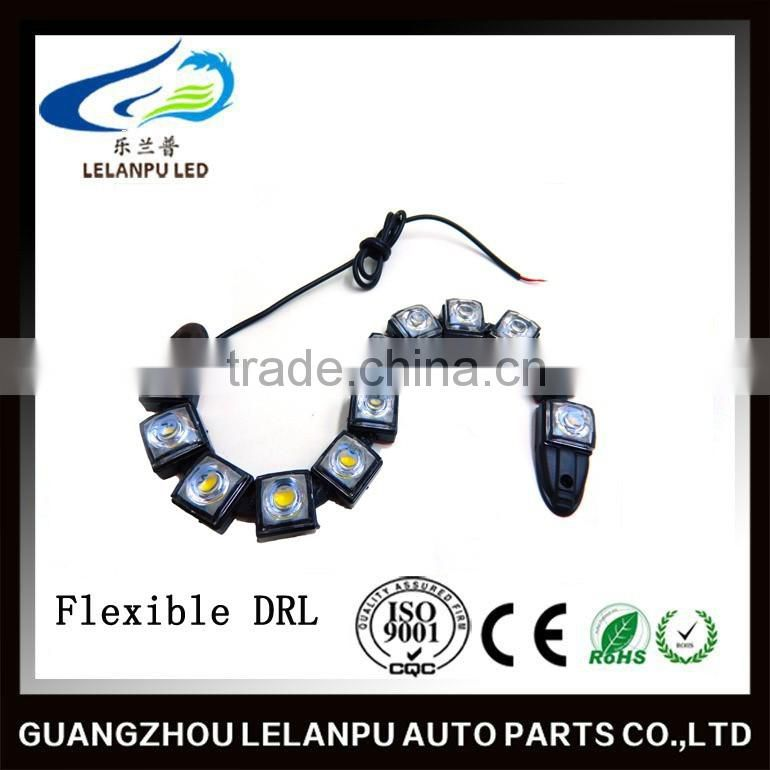 waterproof 12v auto daytime running light/DRL flexible car led light bar